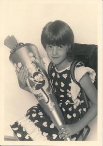 Einschulung 1984