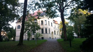 Bürgermeistergarten mit Bürgermeistervilla