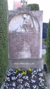 Grab von Heinrich & Maria Schlicht, Severin Horvath & Siegfried Babl