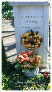 Grab von Dr. Felix Burda Stengel