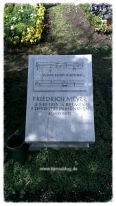 Grab von Friedrich Meyer