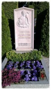 Grab von Rudolf Hamm, Familien Keimel & Moosbichler